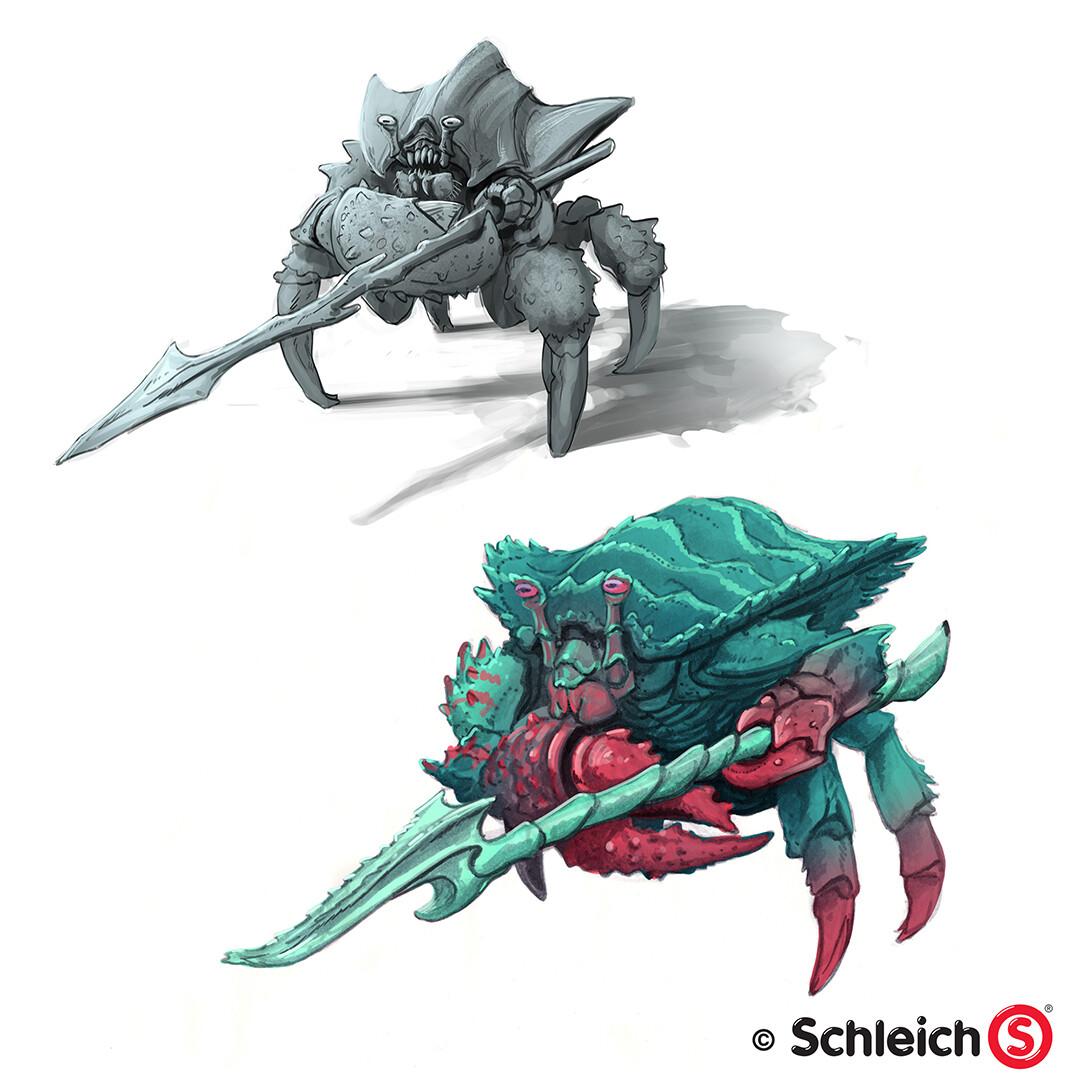 Dirk wachsmuth schleich portfolio 42495 wasserwelt kampfkrabbe pg 04