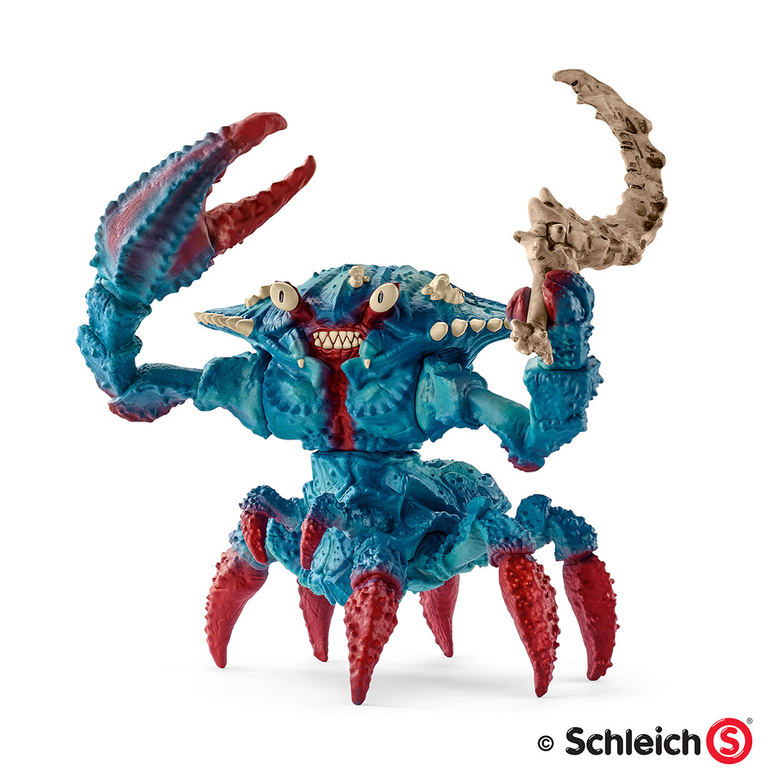 Dirk wachsmuth schleich portfolio 42495 wasserwelt kampfkrabbe pg 15