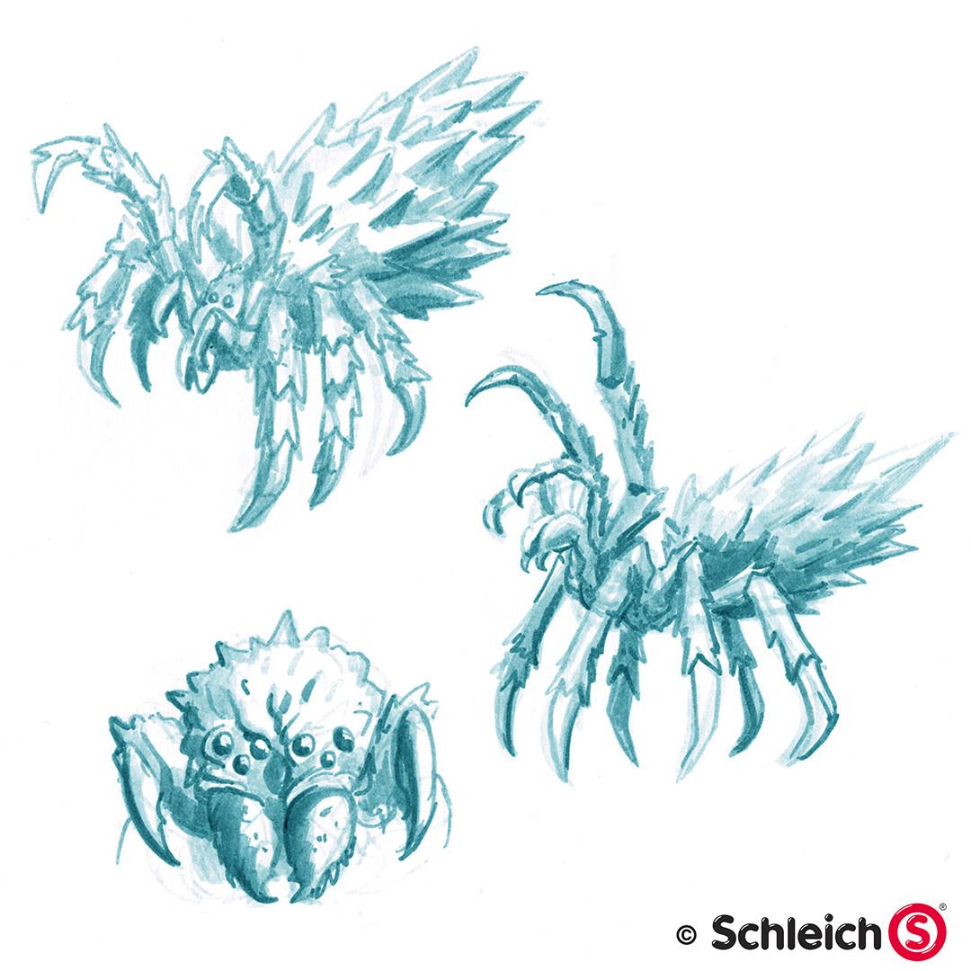 Dirk wachsmuth schleich portfolio 42494 eiswelt eisspinne pg 03