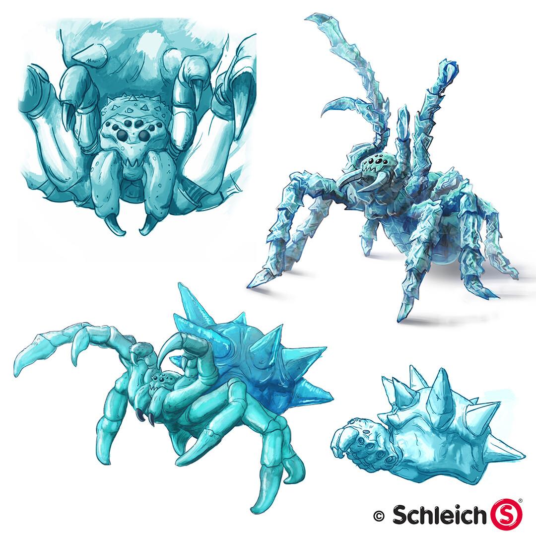 Eis Spinne SCHLEICH 42494 Eldrador
