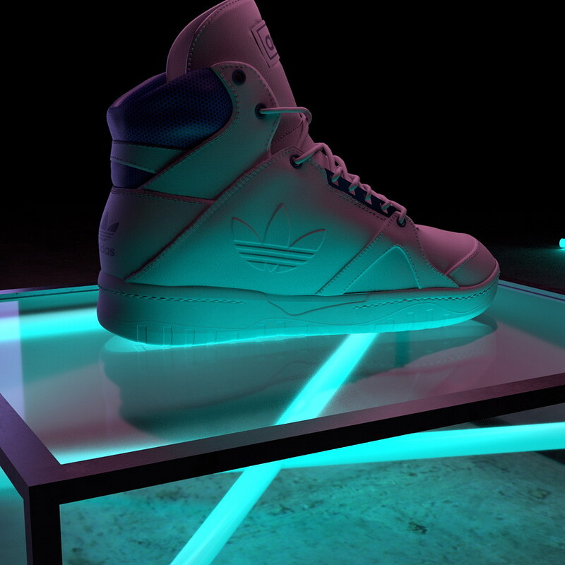 Real-time shoes model