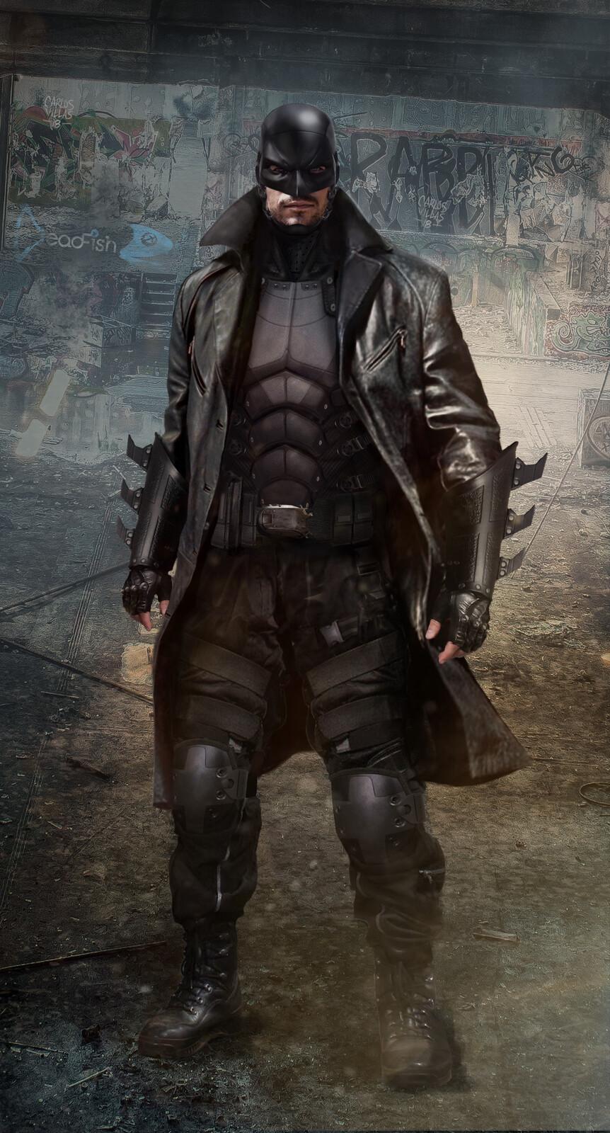 BATMAN SUIT CONCEPT FOR TV SERIES