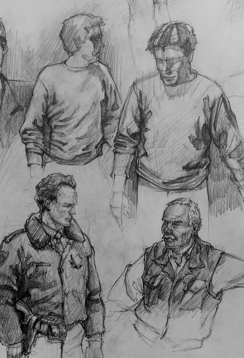 Michal klimecki drawings 01