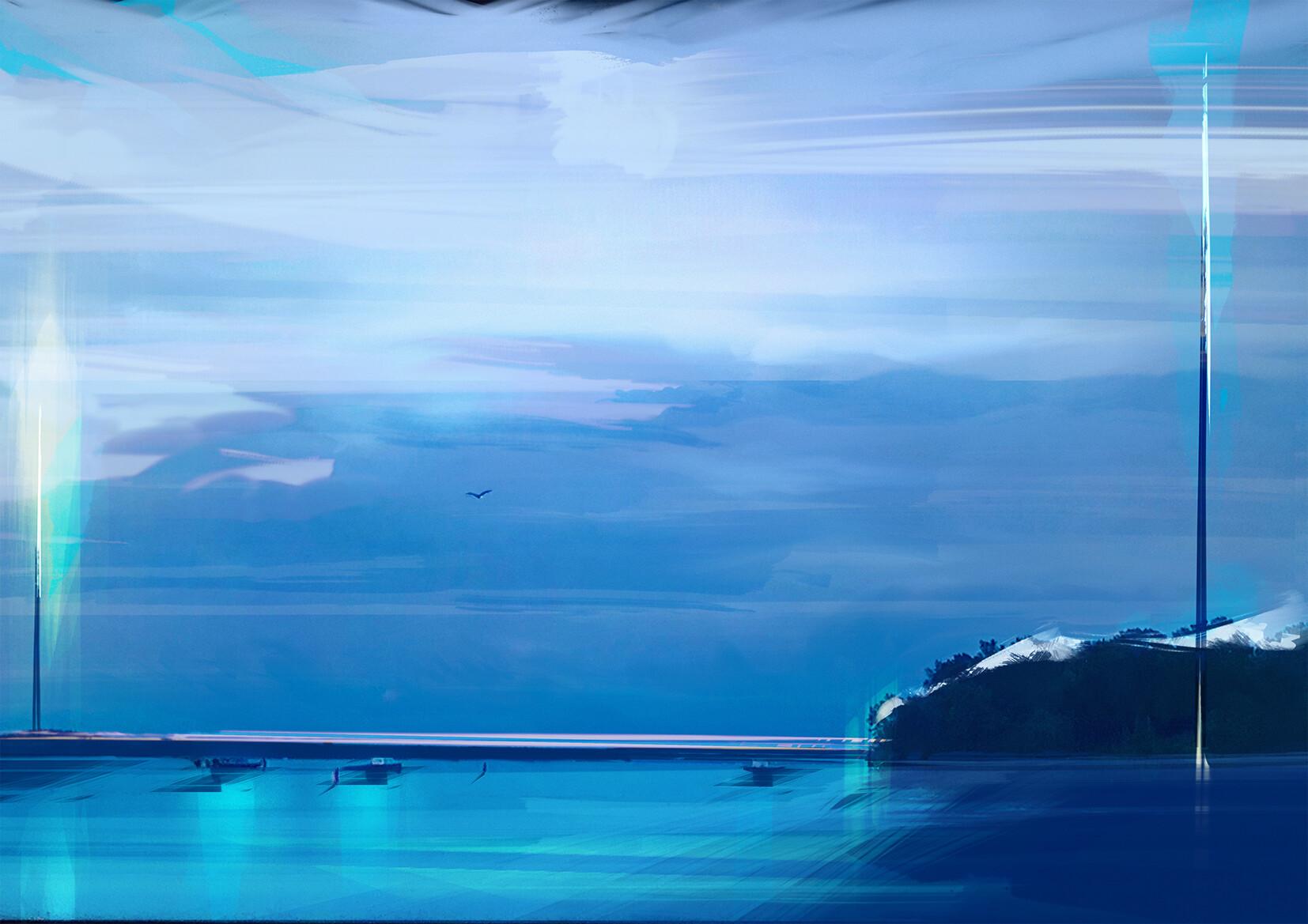 Alex tsoucas blue tranquillity100