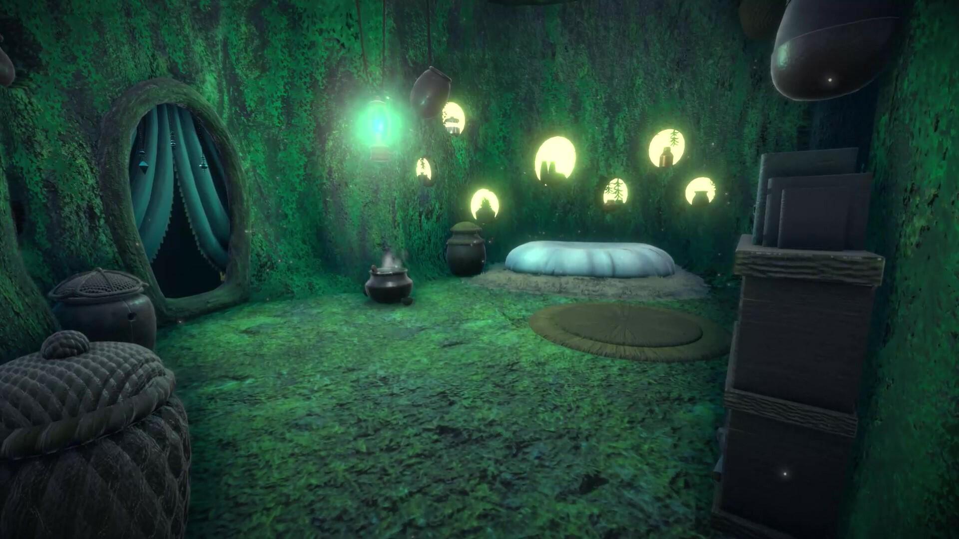 ArtStation - Mossy Hideout Environment, Kira Innes