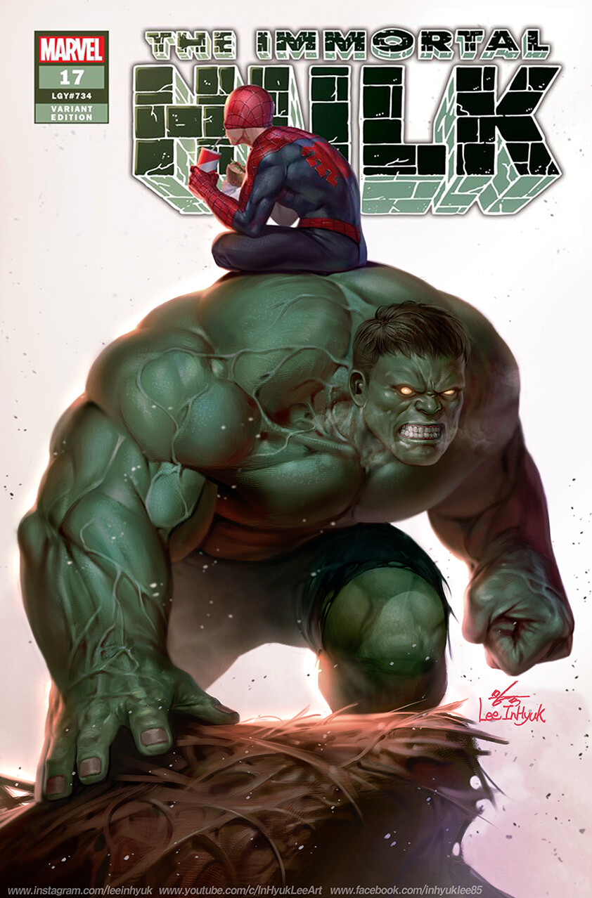 Inhyuk lee immotal hulk 17