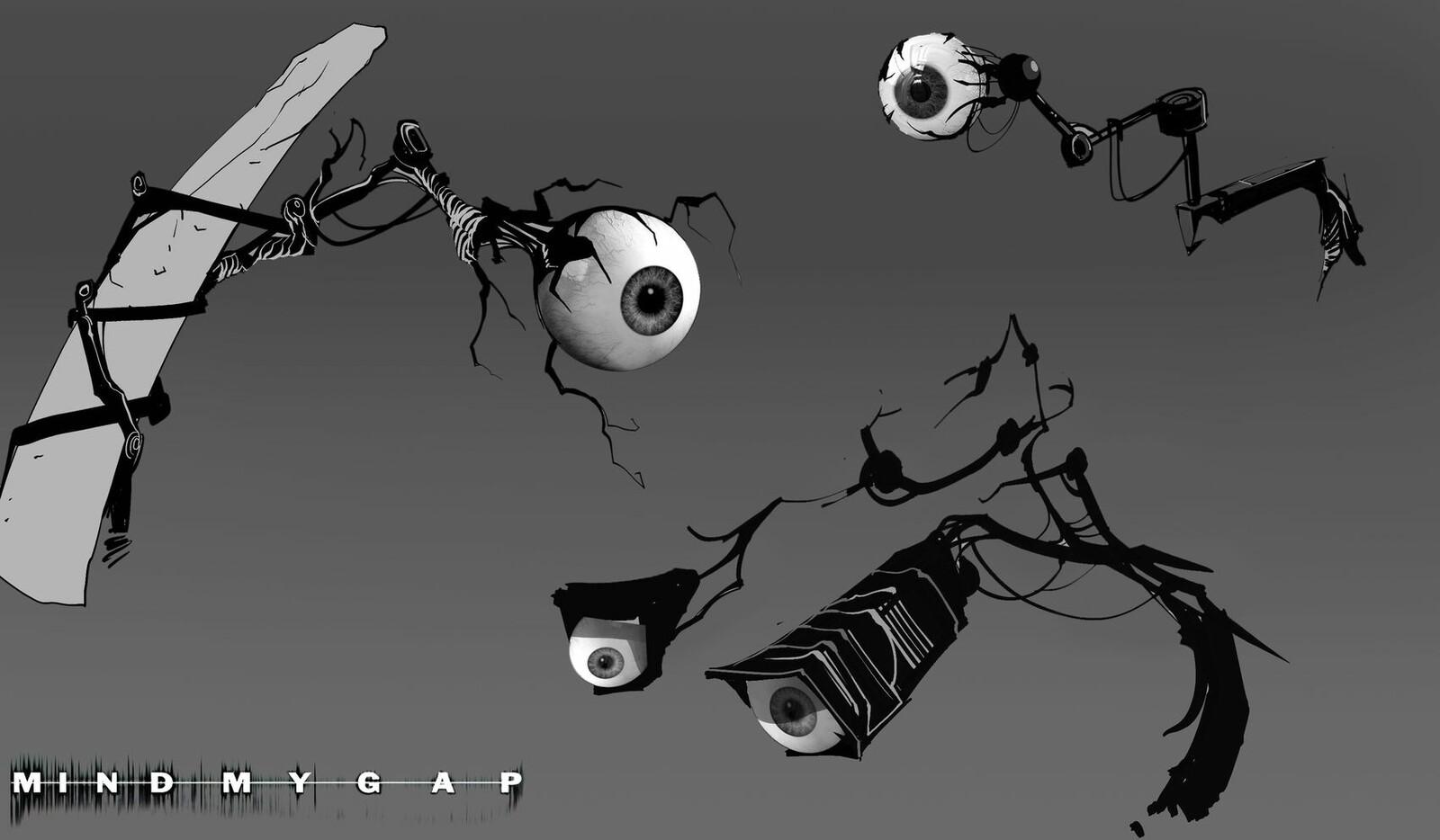 Eyeball Camera's sketch 01