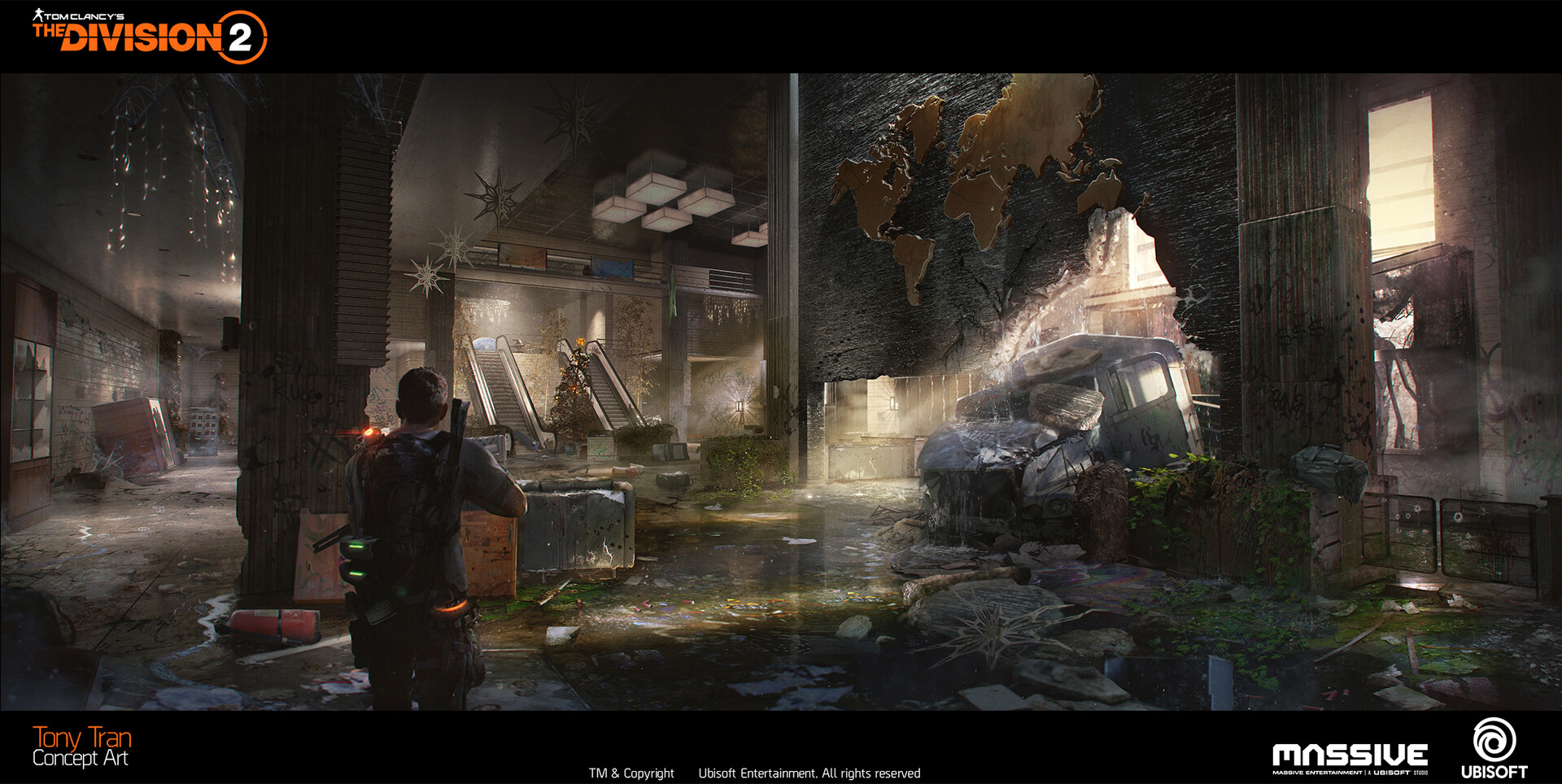 Artstation The Division 2 Concept Art Bank Headquarters