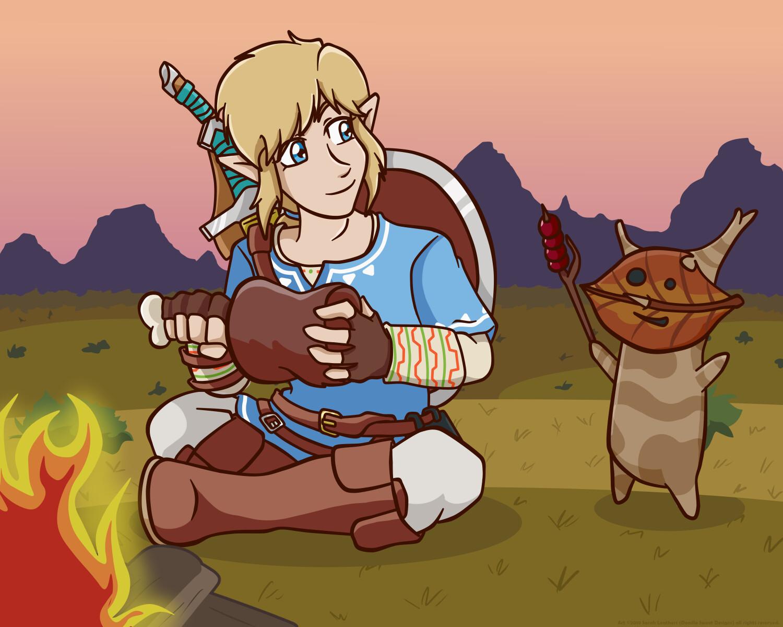 Sarah Leathers Legend Of Zelda Art