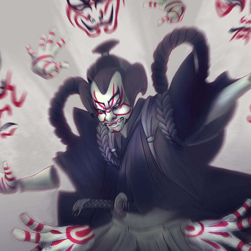 Kabuki - Mini boss CDC