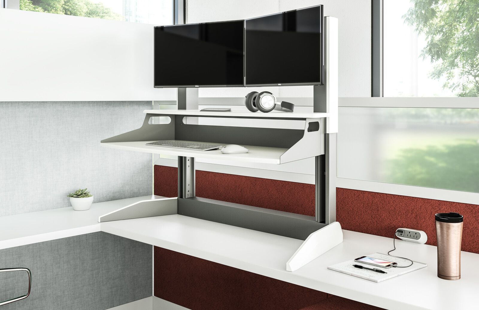 Accel Sit-to-Stand Cubicle