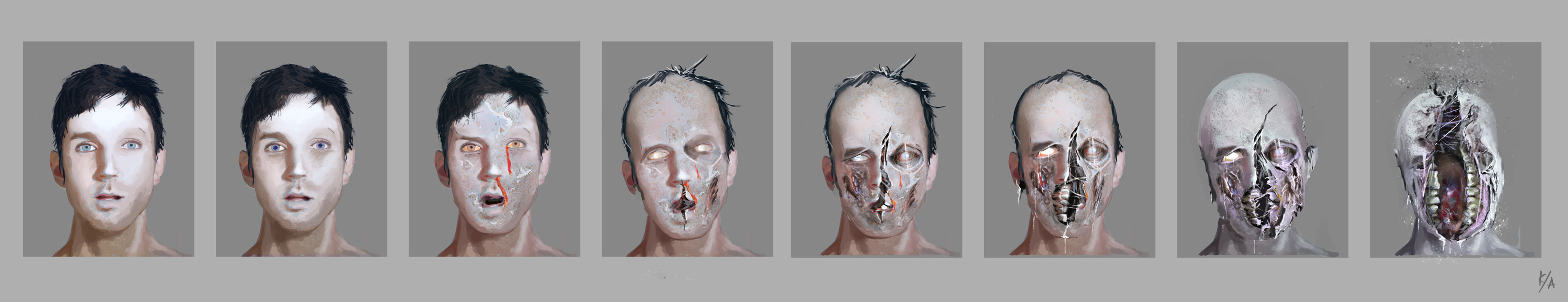 Zombie transformation changes