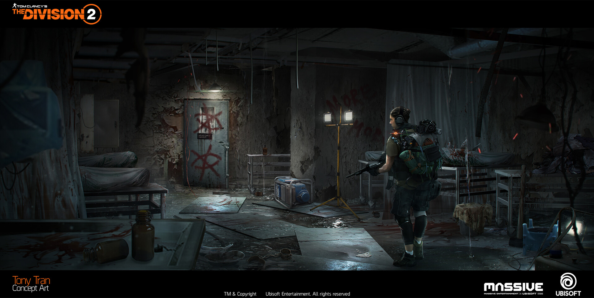 Tony Tran The Division 2 Concept Art Dcd Headquarters