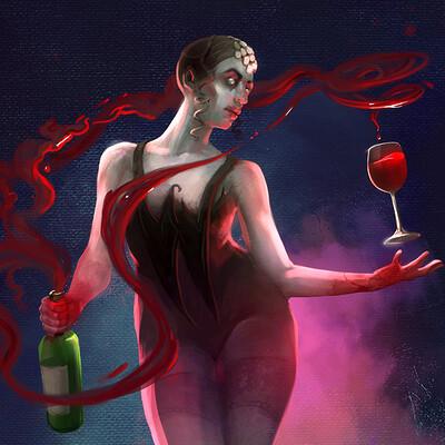 Ed labetski winebender poster flat small