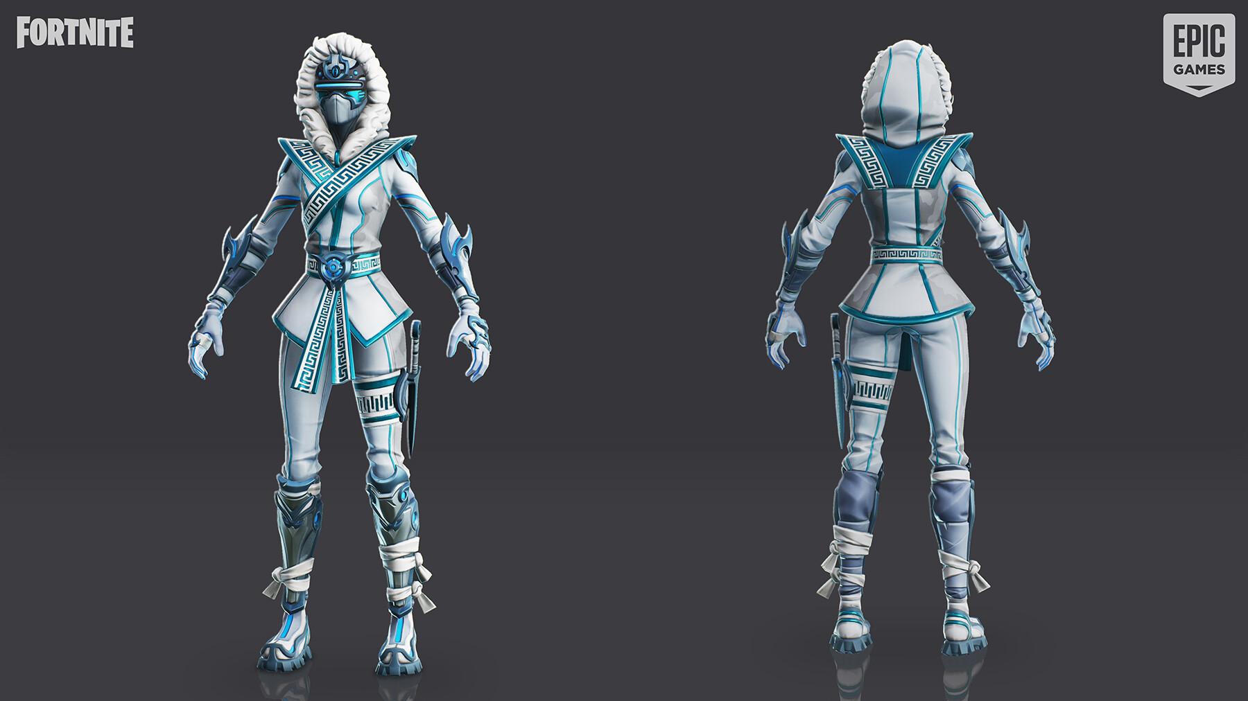 fortnite battle royale snowstrike skin - snow strike fortnite skin