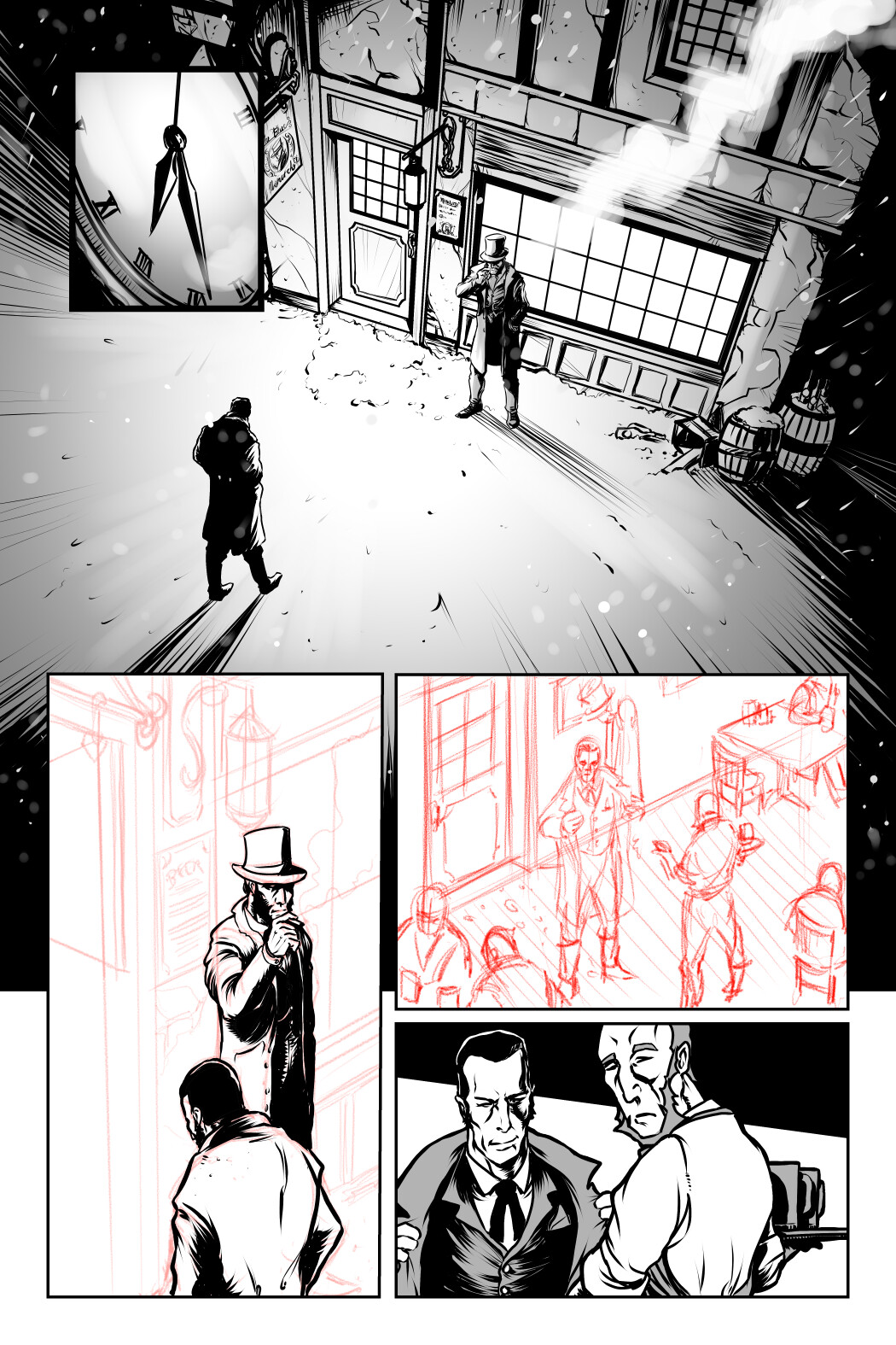 Loc nguyen out of time page 1 8 rough ink 2