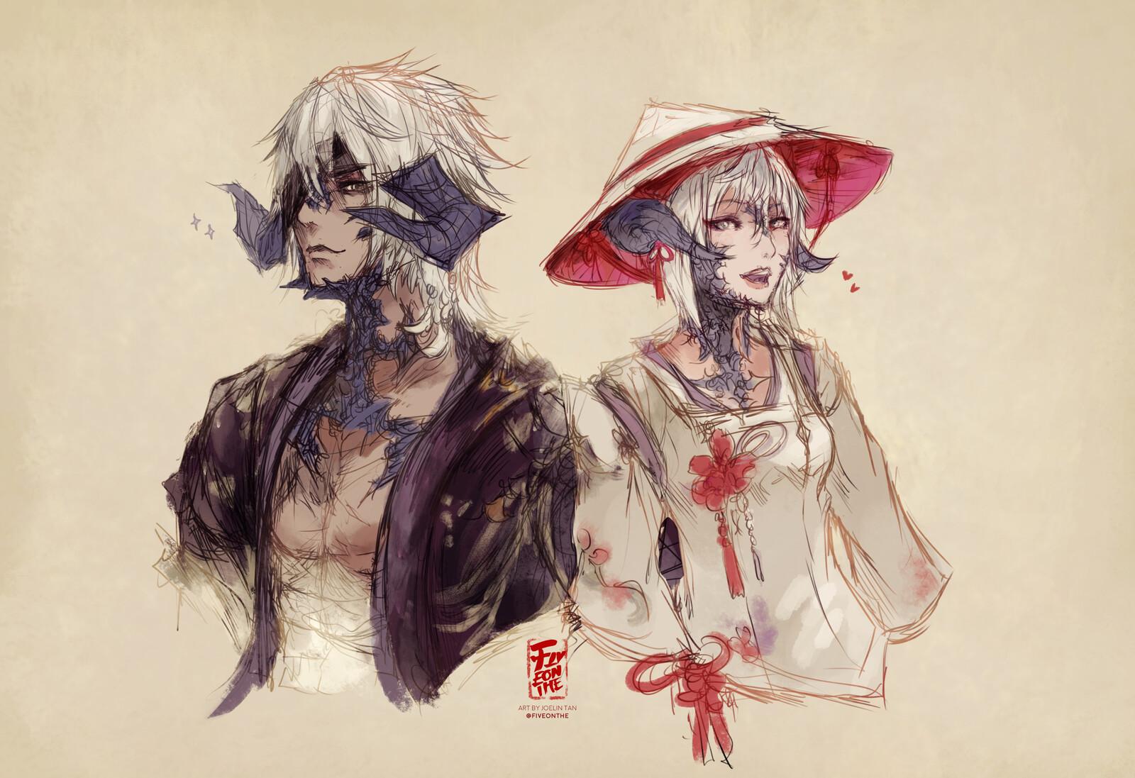 Hayate and Rin 🌸