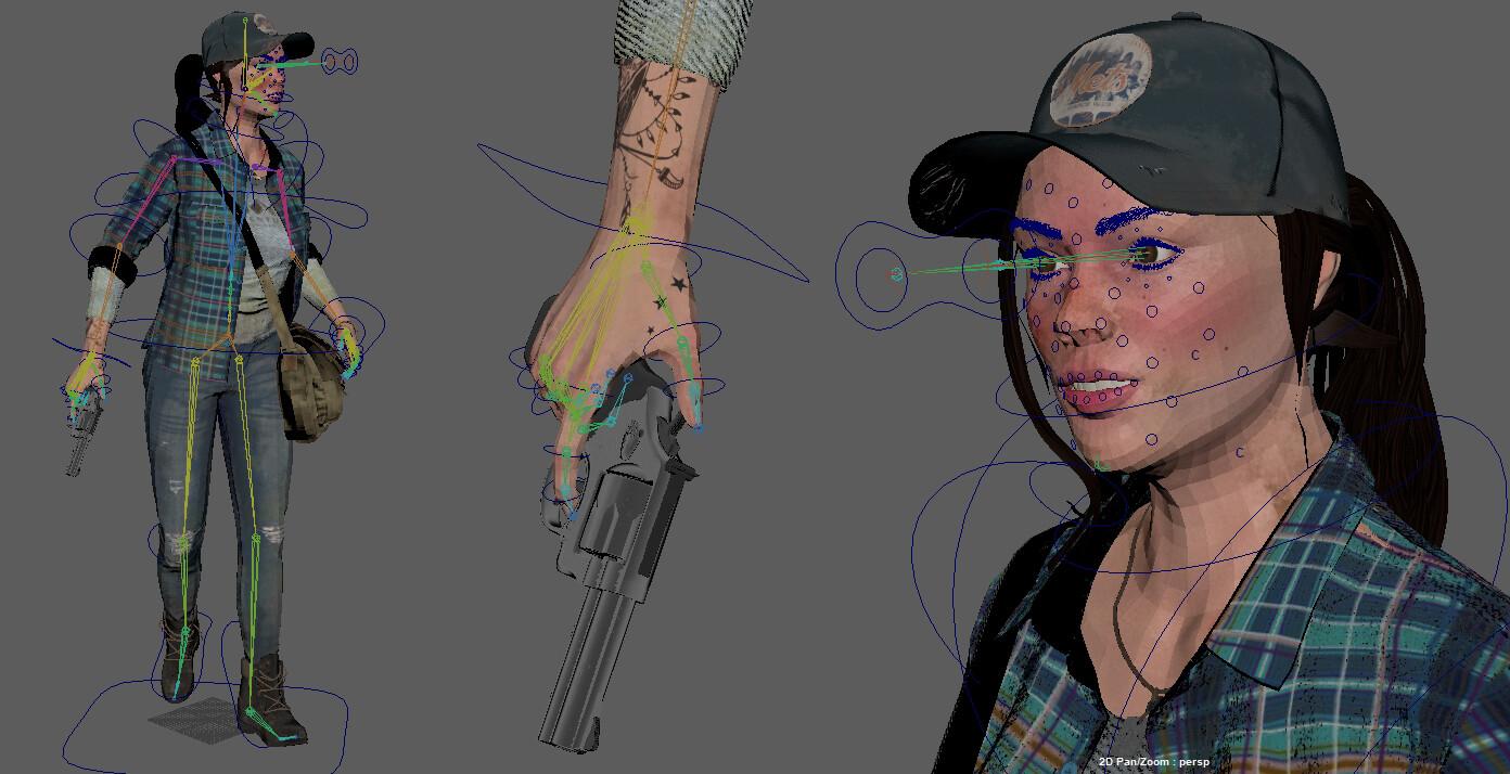 Michal klimecki 3d artist character modeling rig