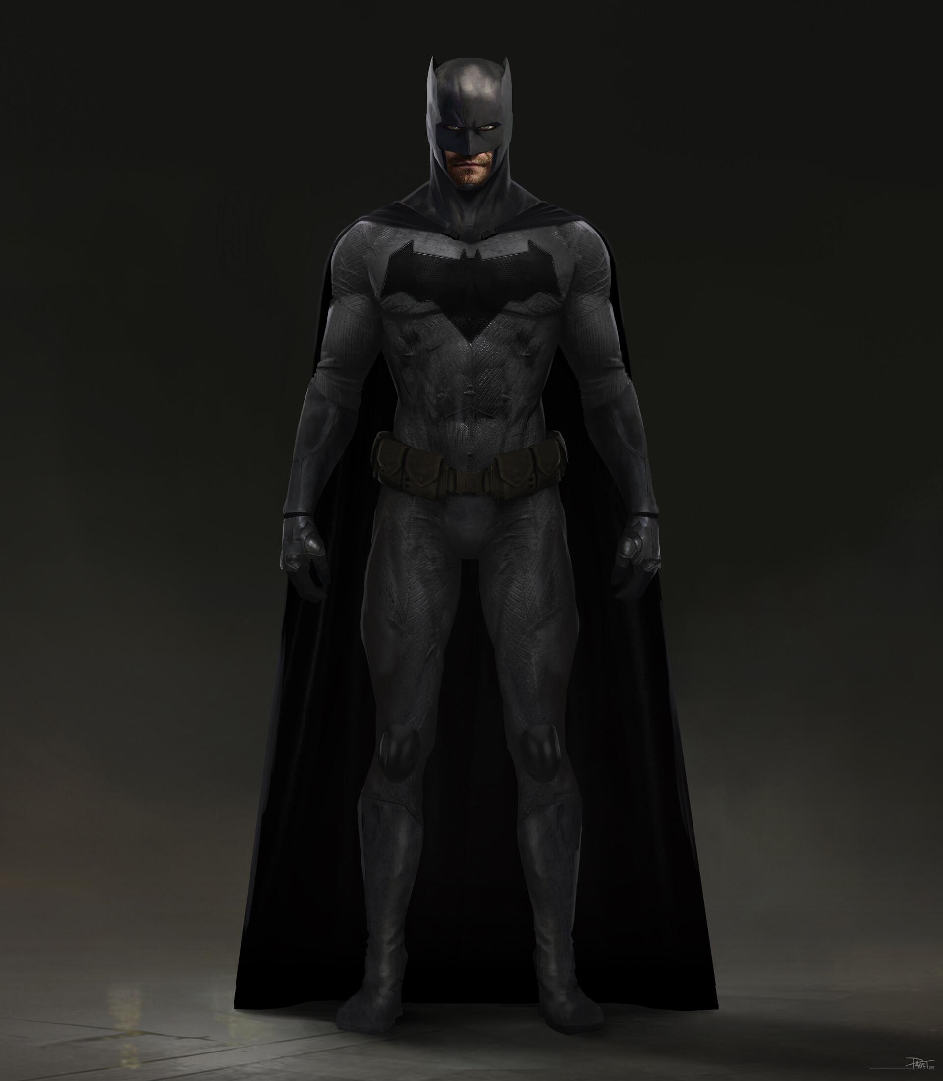 David paget batman open cape