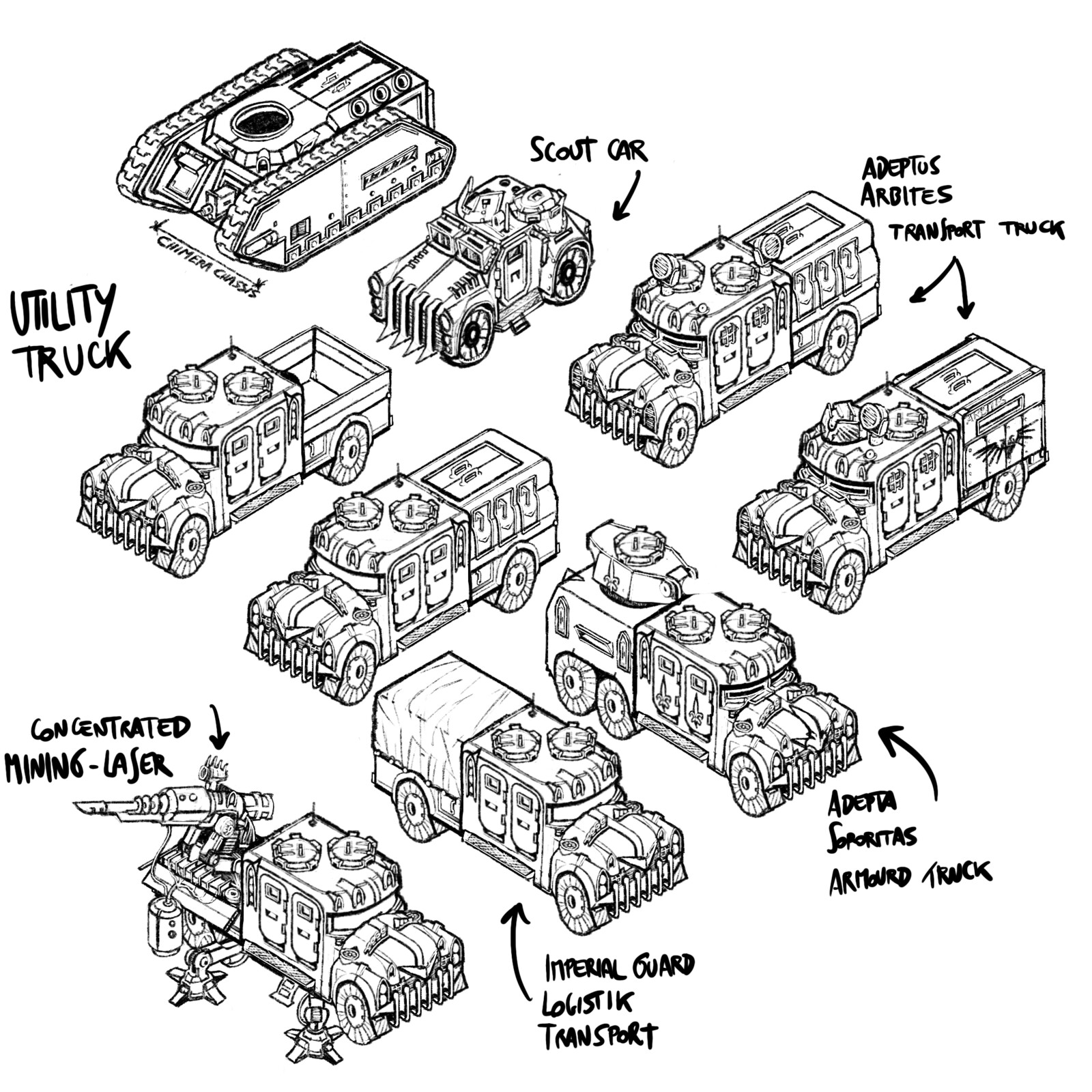 -with a truck you can move more troops on the front - transport more ammunition for tanks and cannons -moving heavy cannons - enrich your Imperial Guard army with new vehicles (they are never enough...)
