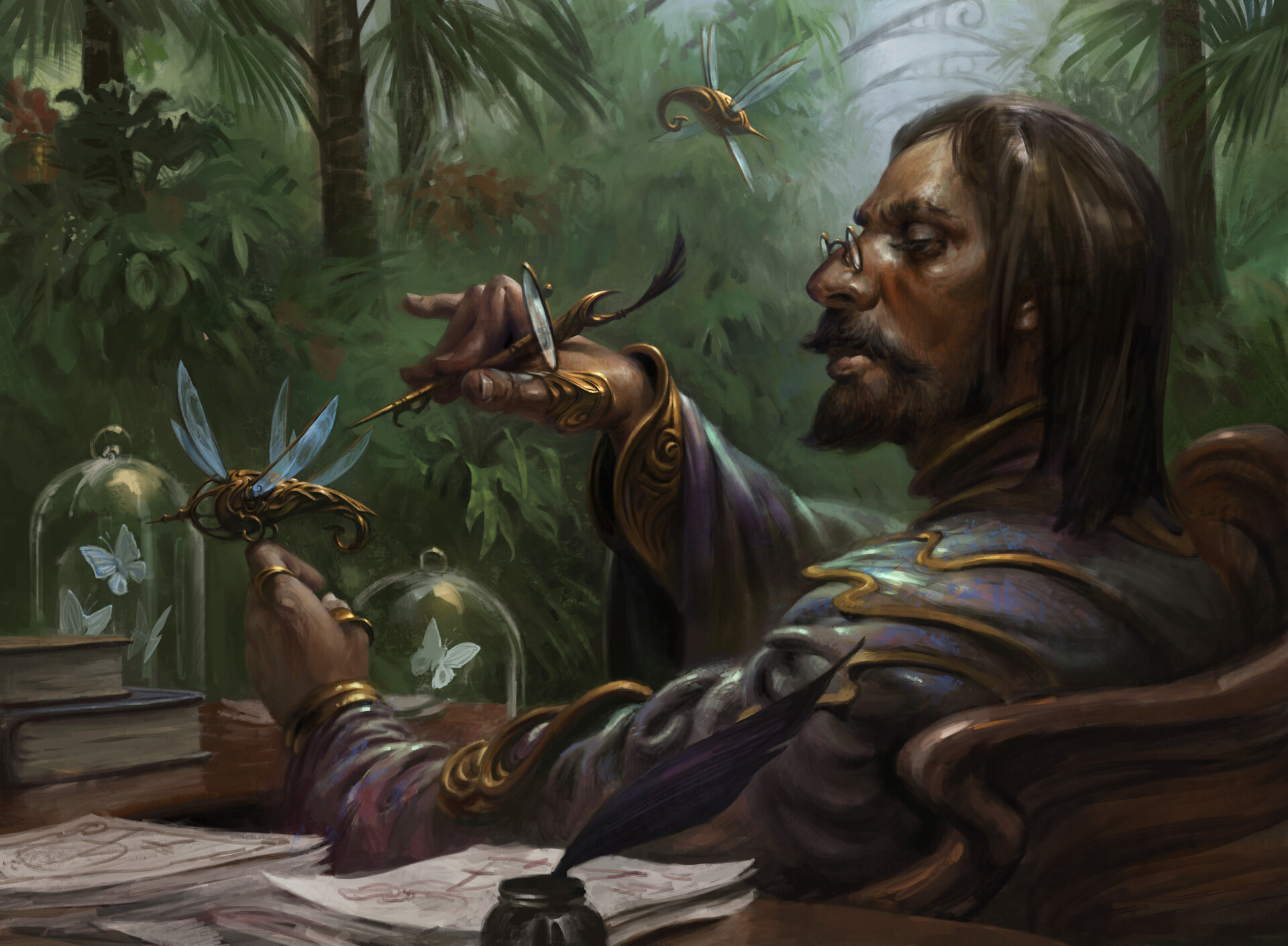 Image result for mtg art sai master thopterist