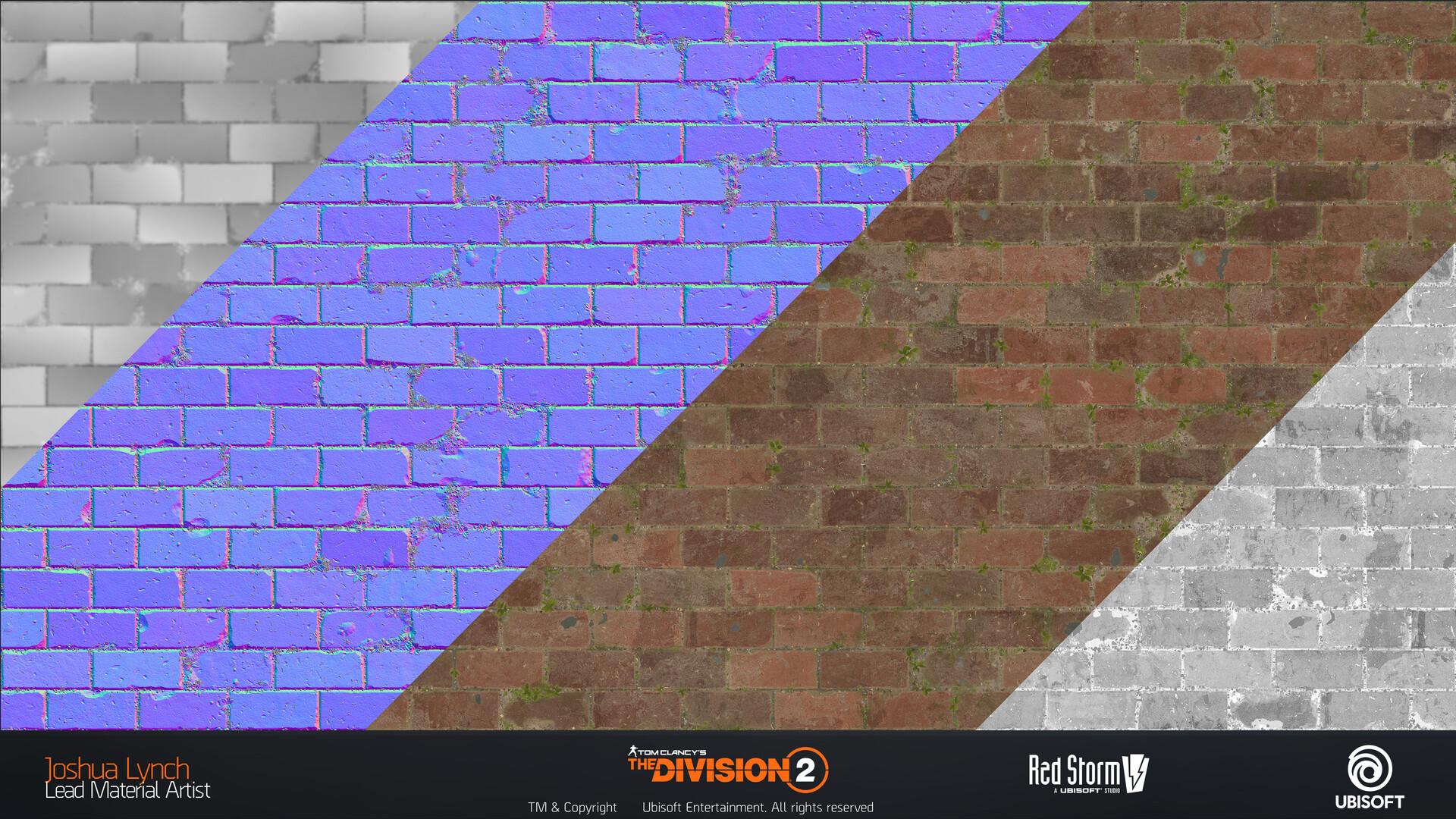 Joshua lynch division 2 josh lynch brick flats