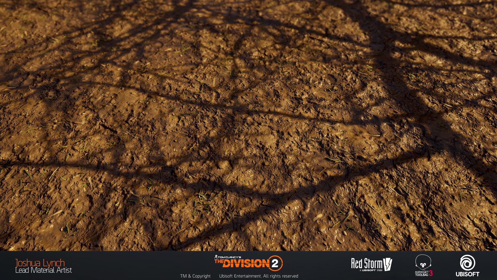 Joshua lynch division 2 josh lynch trampled mud ground