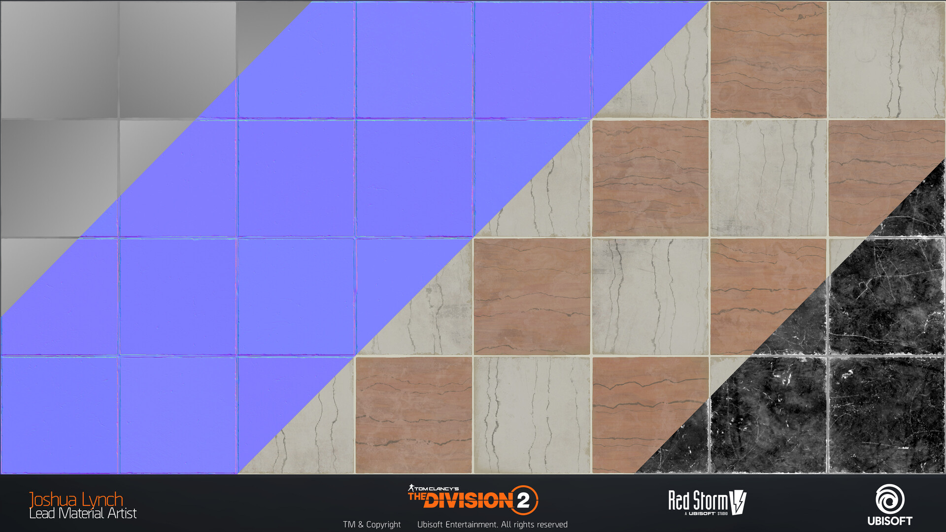 Joshua lynch division 2 josh lynch marble floor tiles 02 flats