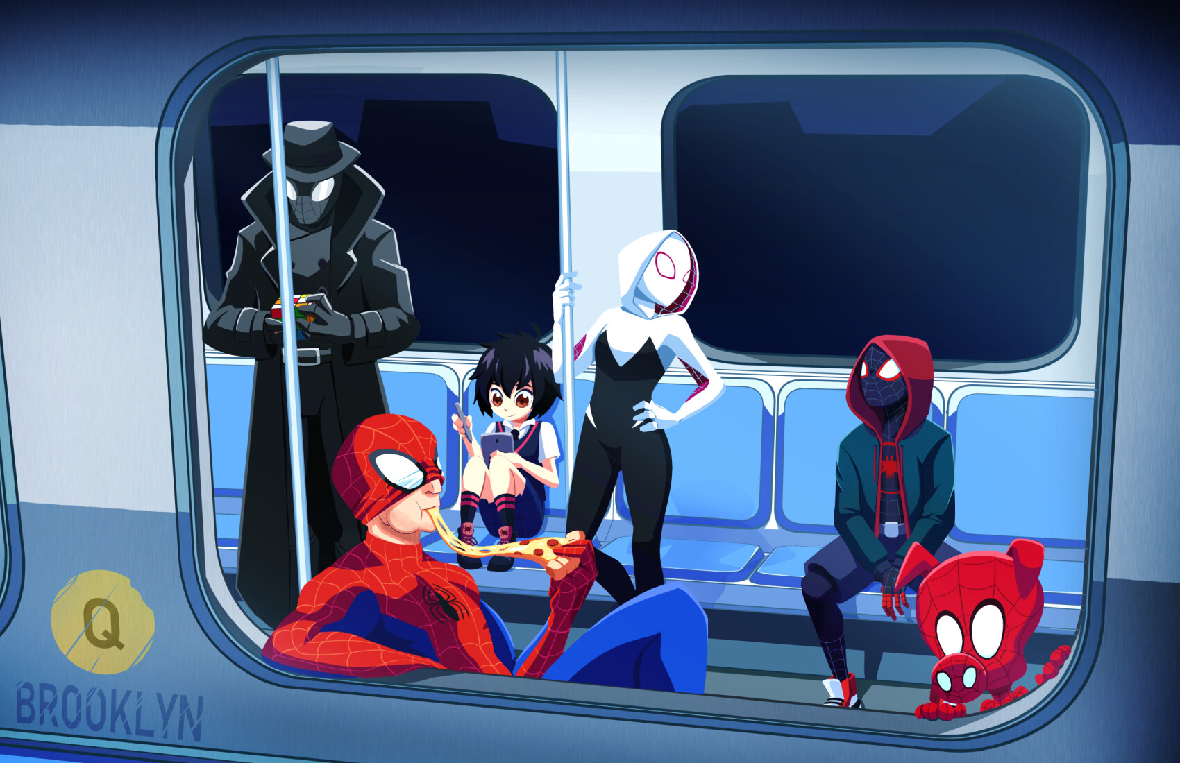 Lawrence patrick patchen iii into the spiderverse ee
