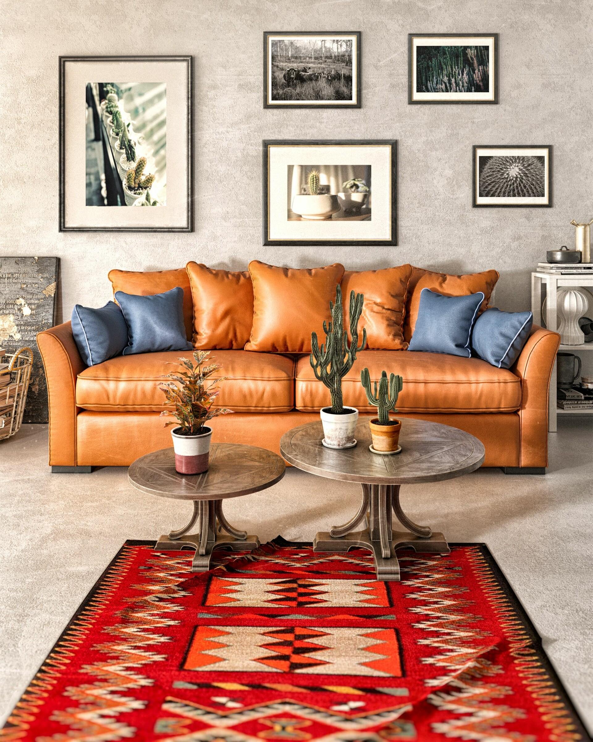 ArtStation - Khoshpayam_ Mexican Style Interior Design ...