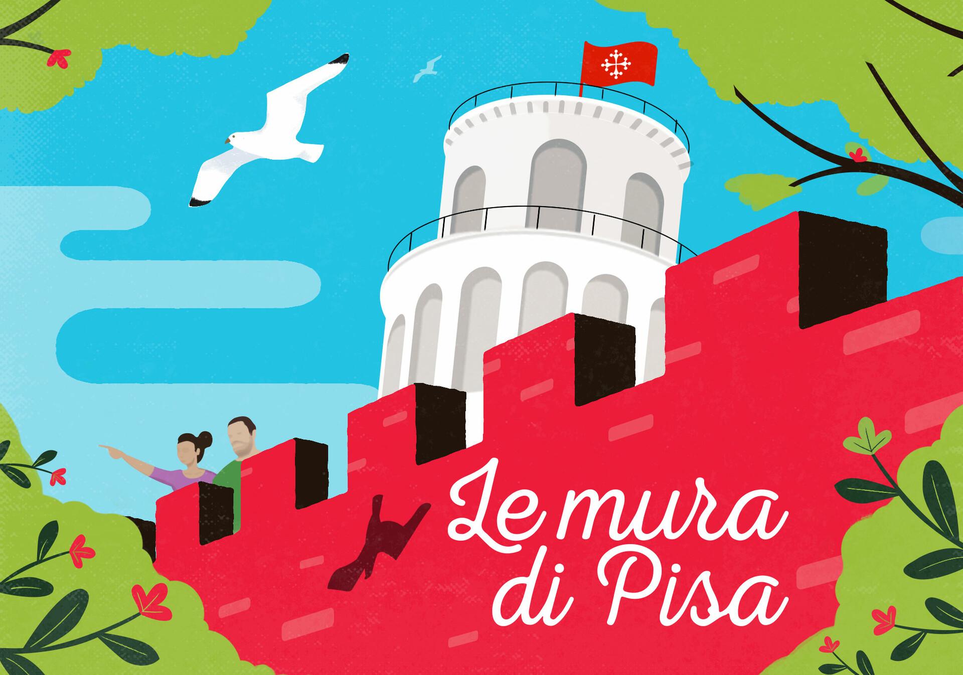 Marco baccioli cartolina 1 mura