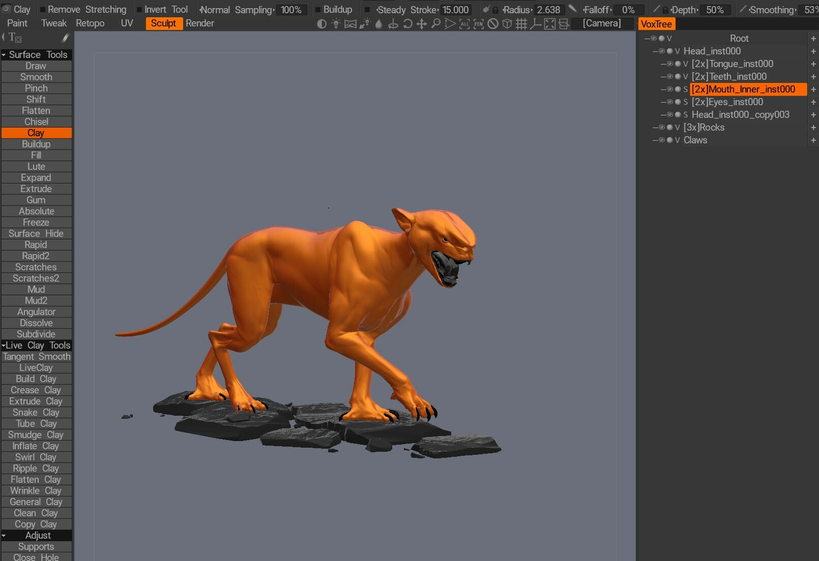 Anton tenitsky creature 3dcoat anton capture