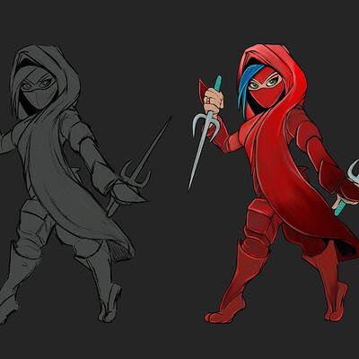 Jon yousef ninja female shozoku