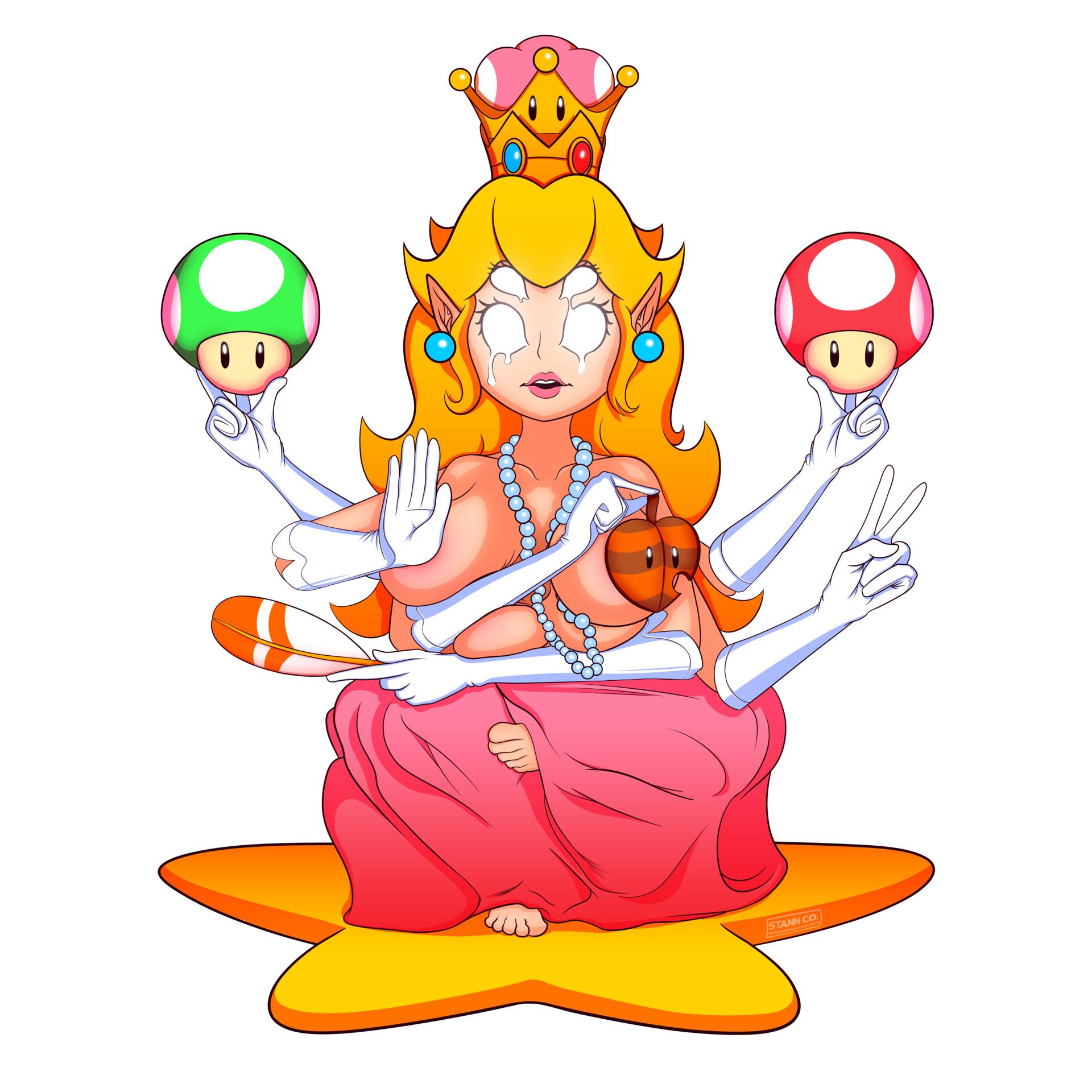 Artstation Ascended Princess Peach Jack Stann Co Conradsen