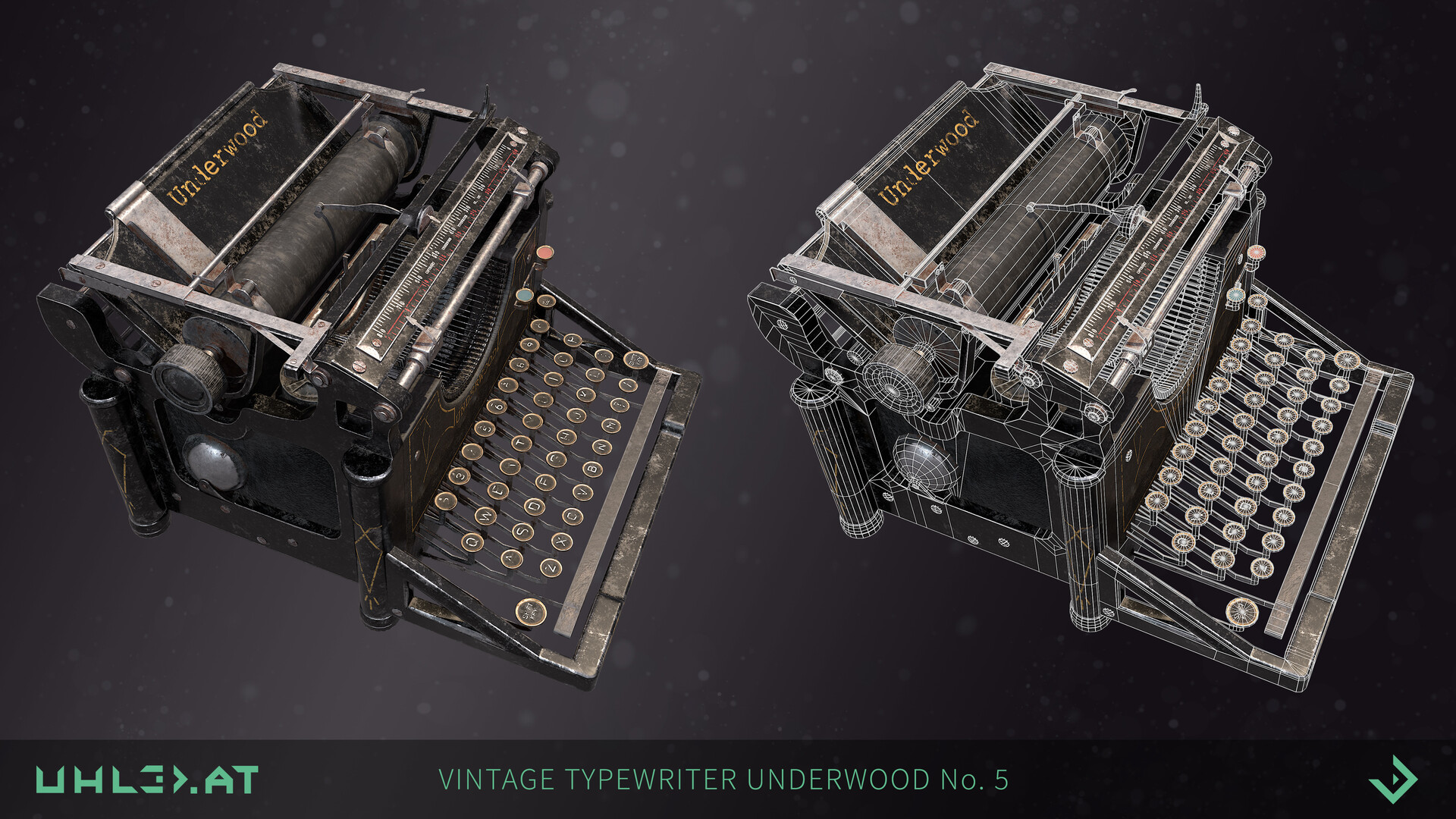 Dominik uhl typewriter underwood 02