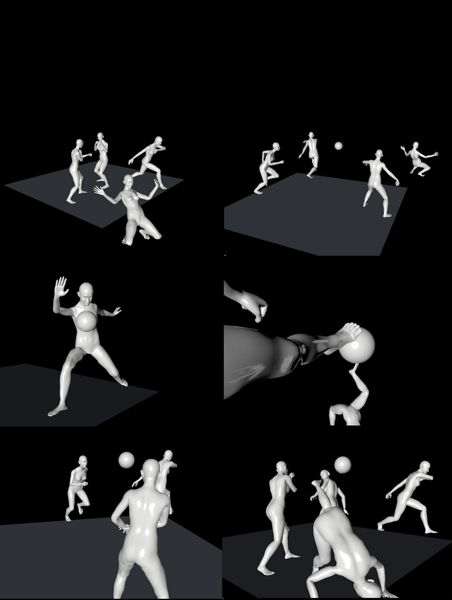 ArtStation - Kicking Dolls, Pieter Dorst