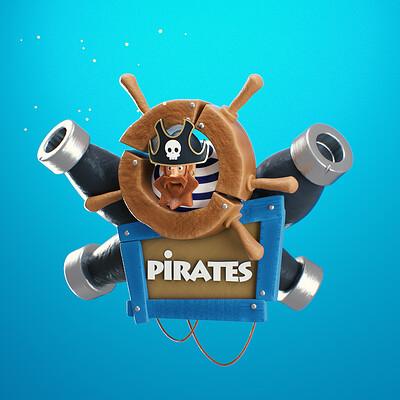 Oren leventar pirates