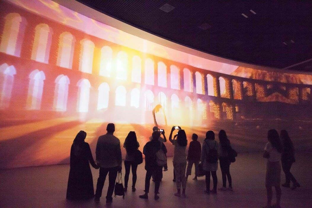 Interactive Installations for Museums