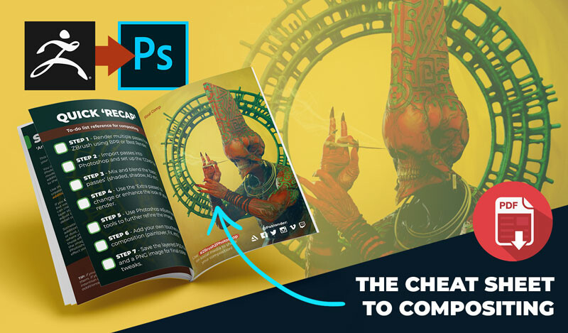 The cheat sheet for compositing