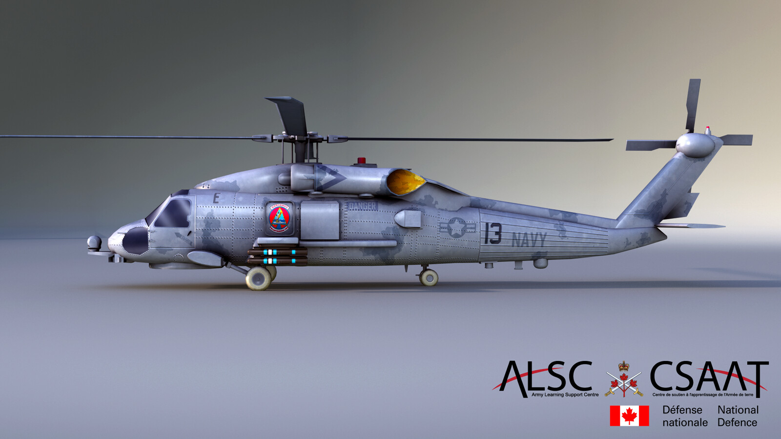Sikorsky SH-60 Seahawk (Texture Only)