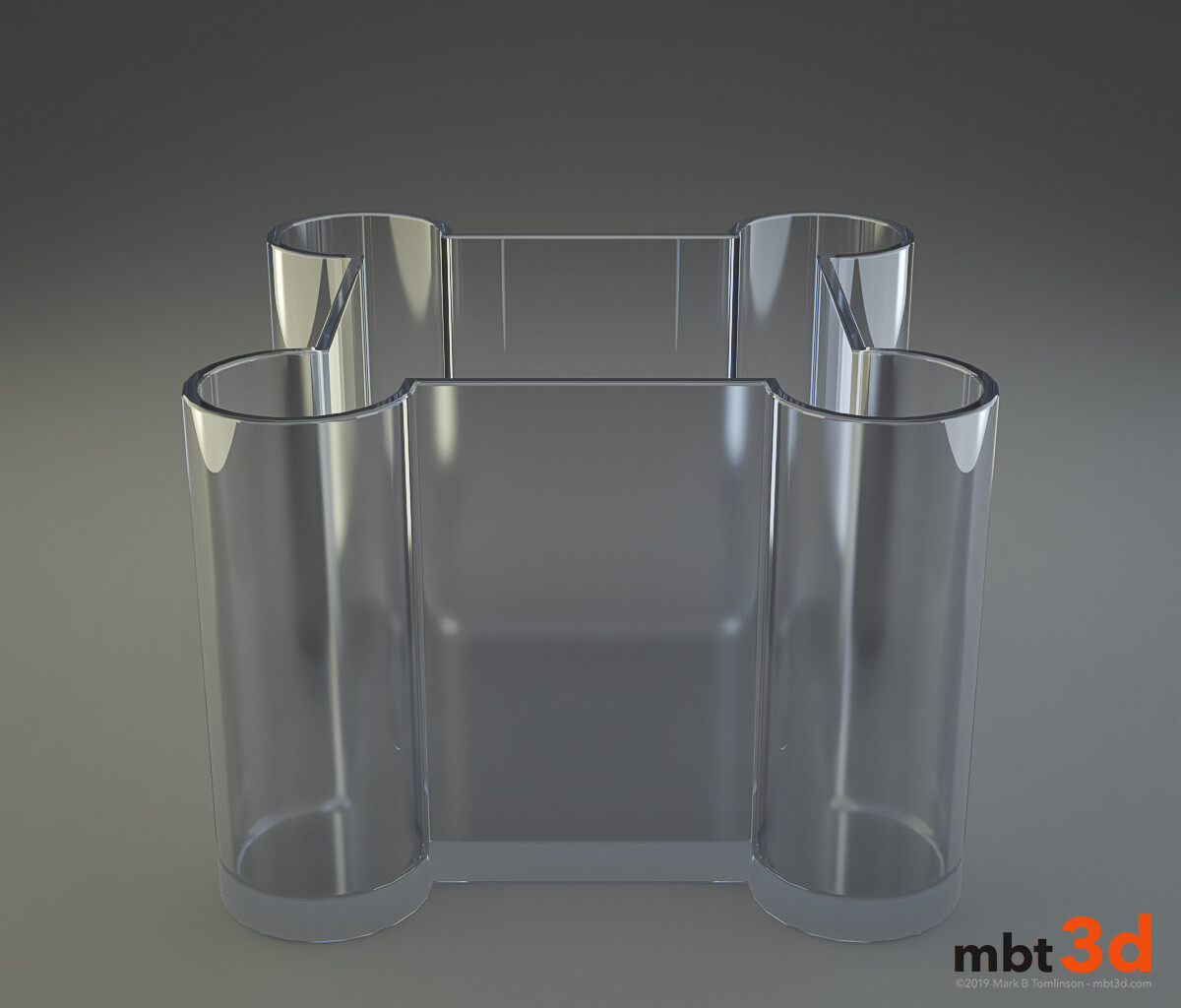 Vase: 1 Simple Glass