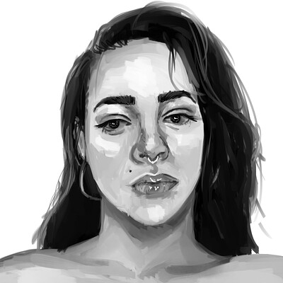 Holly cyprien self portrait