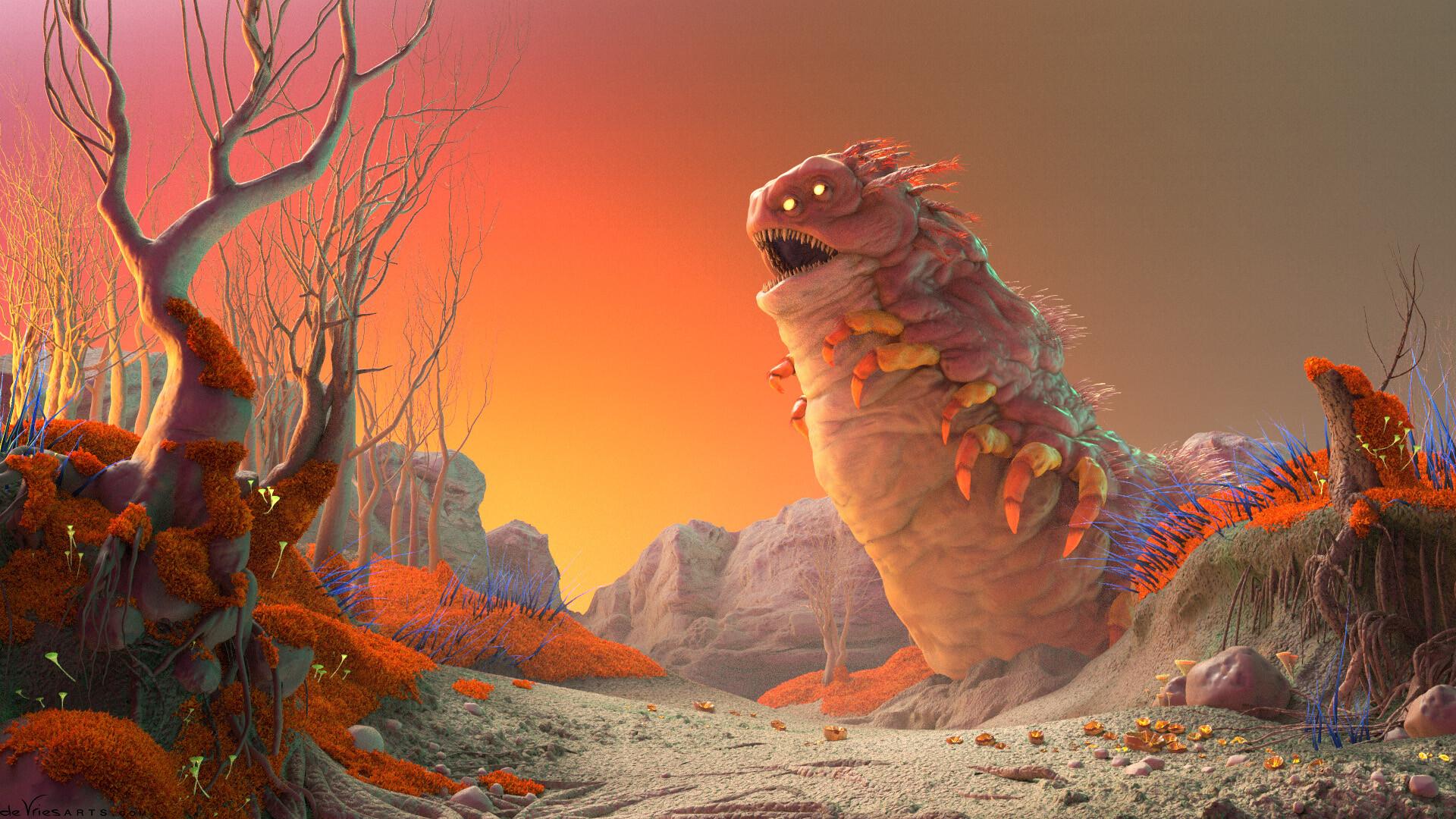 Thijs de vries 04 worm thijsdevries devriesarts