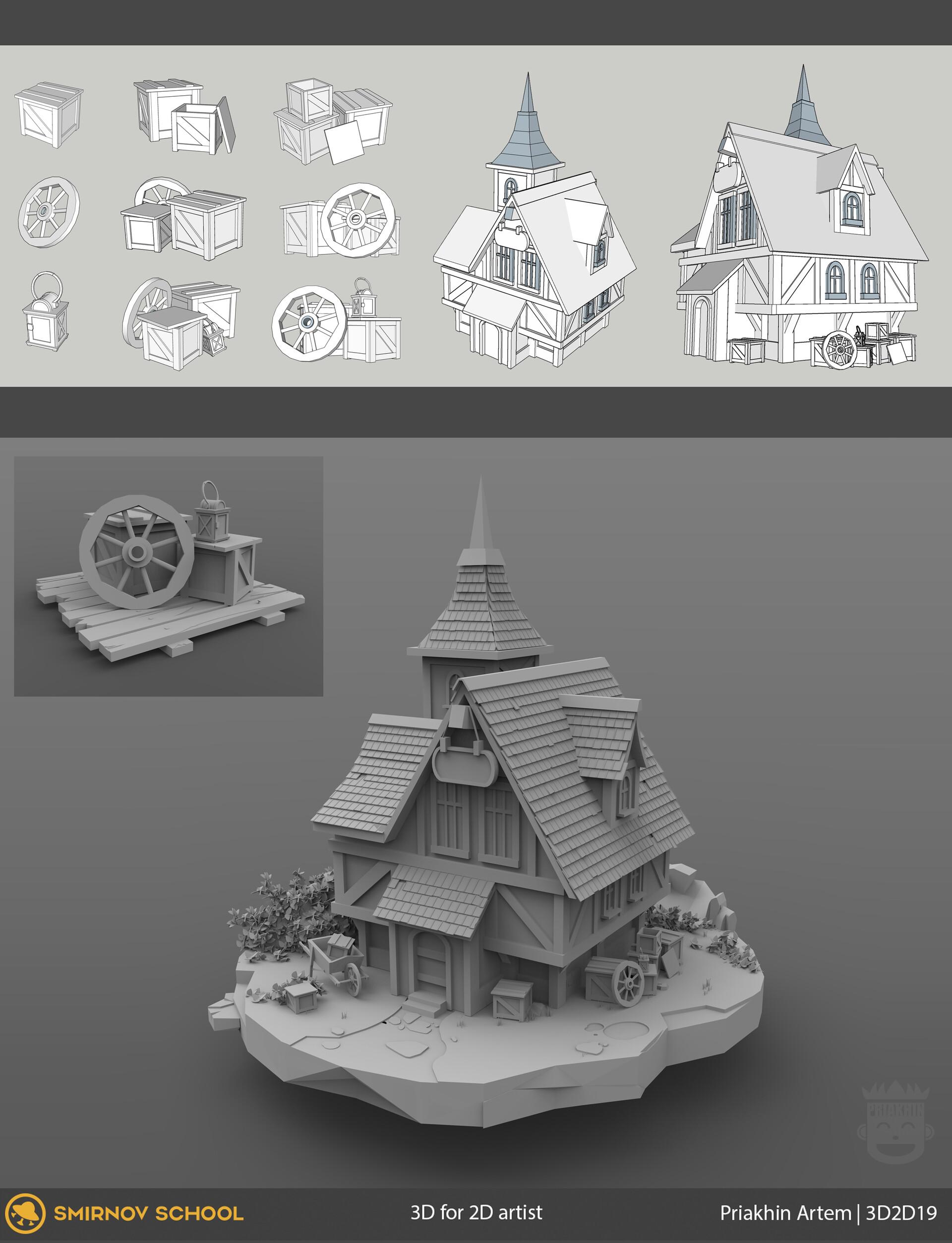 ArtStation - 3D Boss (sarcasm), Artem Priakhin
