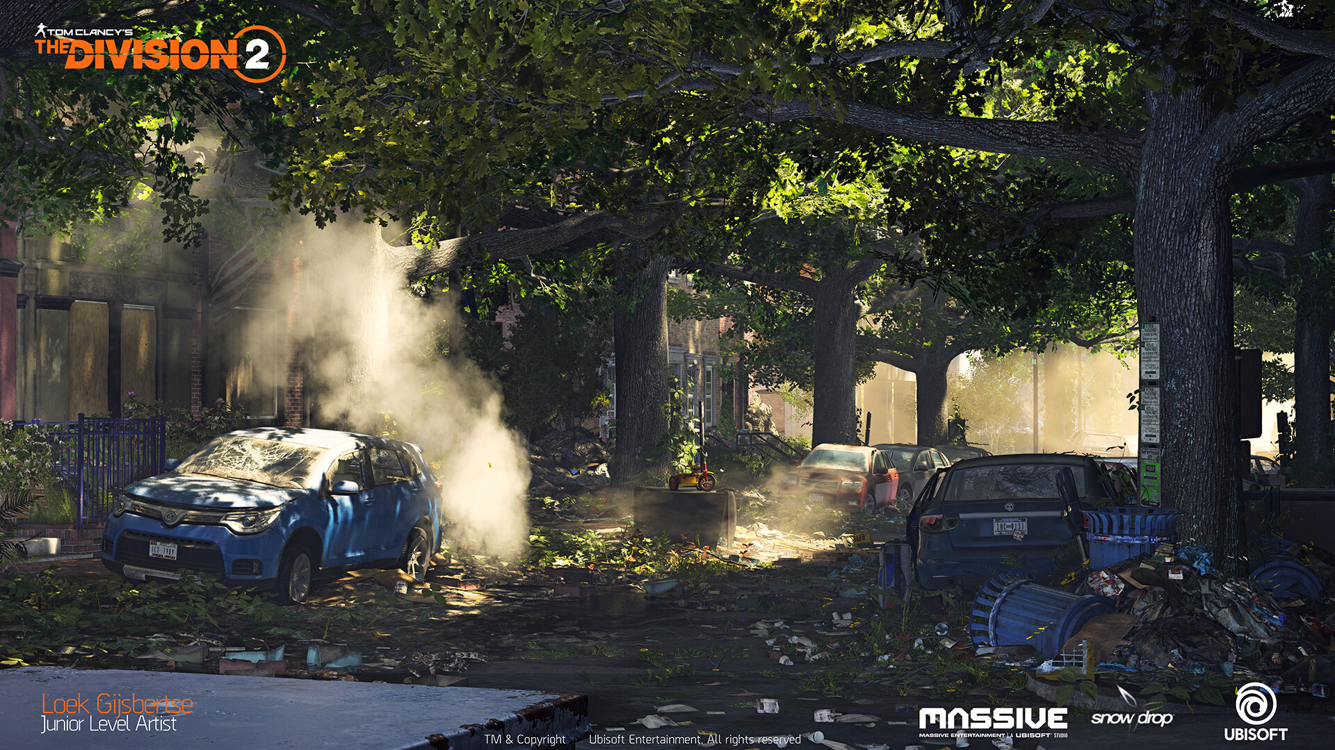 ArtStation - The Division 2 - Gamescom Trailer, Loek Gijsbertse