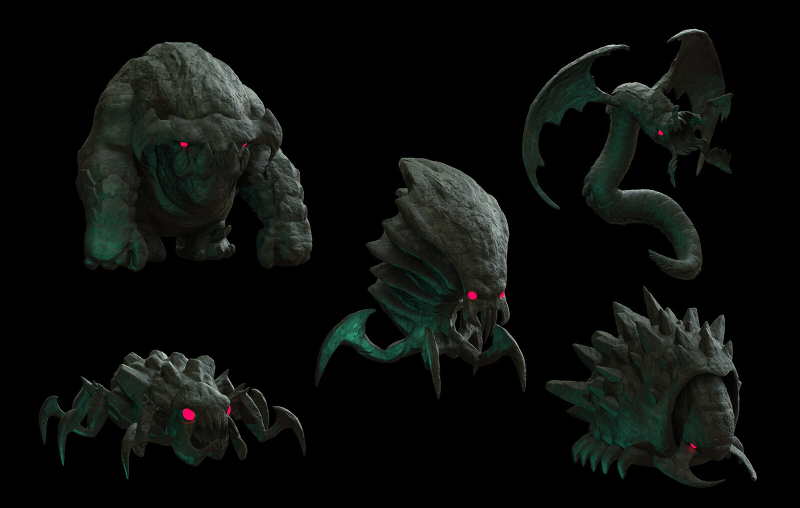 Monster Concepts 2