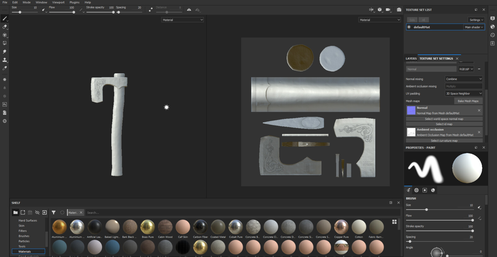 Substance Painter WIP 1