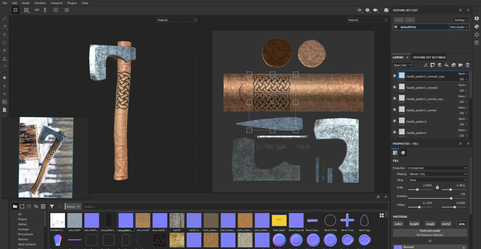 Substance Painter WIP 2