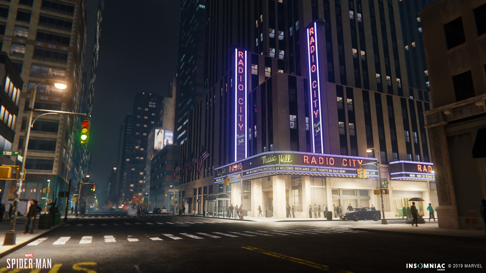 Spider-Man PS4: Midtown Areas