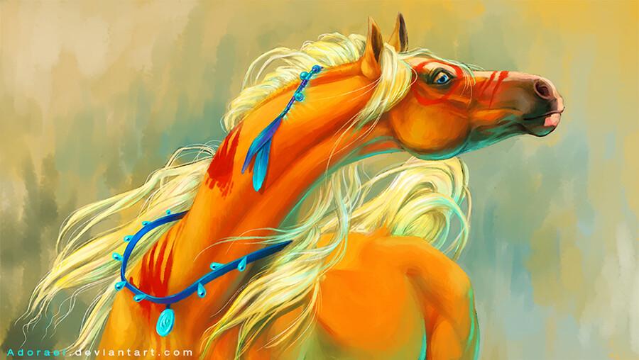 Cristina birtea ginger war pony by adorael d7s1s0b